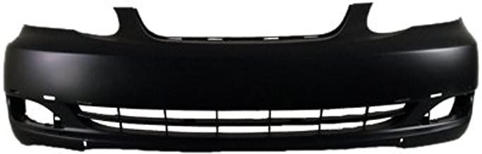 OE Replacement Toyota Corolla Front Bumper Cover (Partslink Number TO1000298)