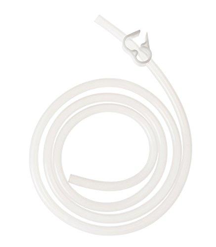 PureLife Enema Tubing with Clamp/Platinum-Cured Medical Grade Silicone Enema Tubing