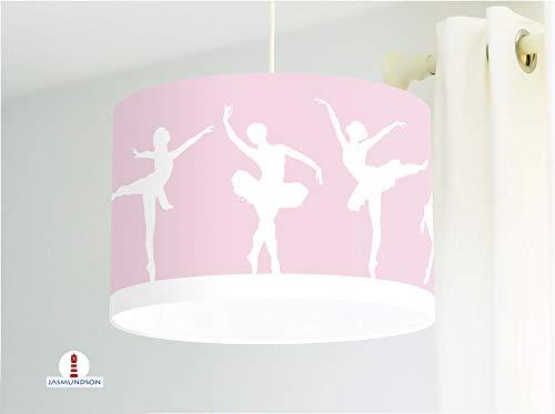 Deckenlampe mit Ballett Ballerinas in Rosa für Mädchen und Kinderzimmer