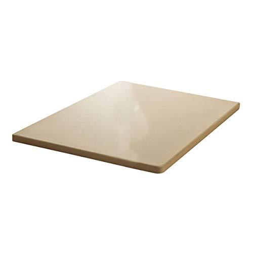 SANTOS Pizzastein für Gasgrills, Backofen, Holzkohlegrills, 30,5 x 30,5 cm, eckig