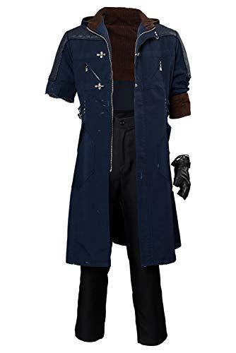 Tollstore Devil May Cry V-Nero Cosplay Kostüm Mantel (Beschädigte Version) Herren L