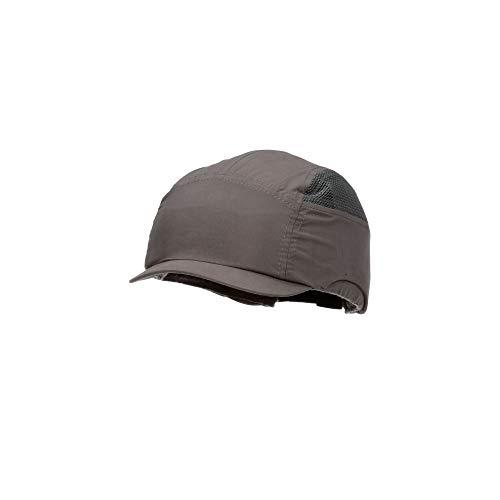 3M First Base+ Anstoßkappe / Kopf-Schutzkappe / Sicherheitskappe, Schwarz mit Standard-Schirm 70 mm