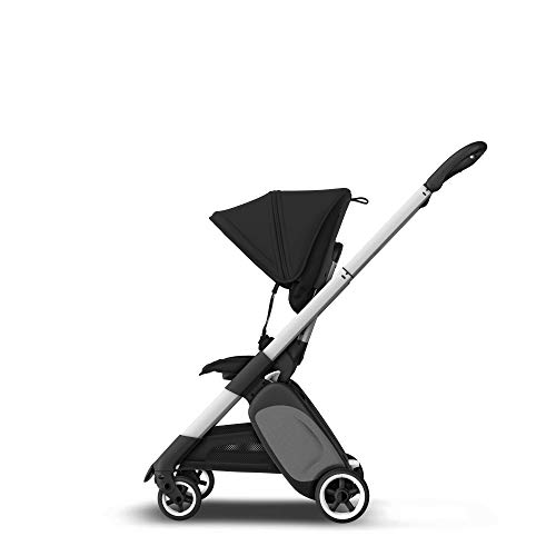 Bugaboo Ant - carrito ligero de viaje con plegado compacto, se convierte en un carrito (Negro)