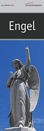 Lesezeichenkalender Engel 2021: Monatskalender mit Fotografien und Zitaten