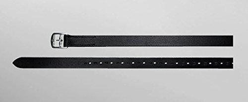 Passier Steigbügelriemen, Ledersteigbügelriemen, 2.9cm breit Länge 160cm, Farbe schwarz