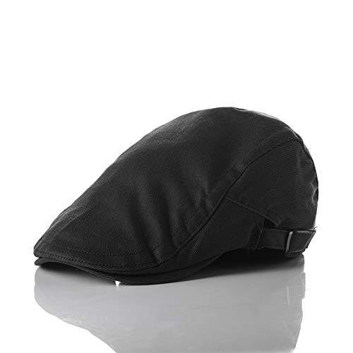 Sombrero de algodón Coreano Boina de Pintor de Verano Sombrero Retro de los Hombres hacia adelante Damas otoño e Invierno japoneses