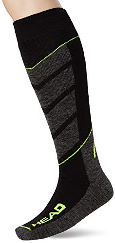HEAD SKI V-SHAPE KNEEHIGH 2P Chaussettes de sport,...