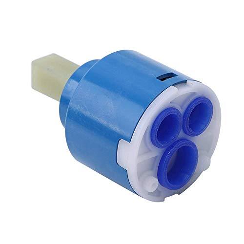 C/H 35/40mm Cartucho de Disco Cerámica Mezclador Grifo Válvula Termostática PP Interruptores Plástico Accesorios para Lavabo Ducha Caliente Y Fría Mezcla
