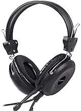 A4Tech Hs-30 ComfortFit Stereo Headset, Black