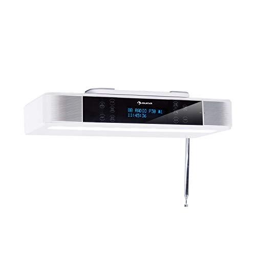 AUNA KR-140 Kitchen Evolution - Radio da Cucina, Radio Sottopensile, DAB+, Display Touch, Bluetooth, 40 Satzioni...