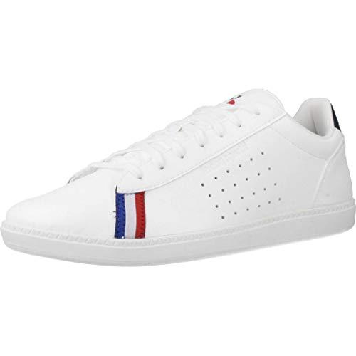 LE COQ SPORTIF COURTSTAR Sport, Baskets Hommes, Blanc (Optical White/Dress Blue), 45 EU