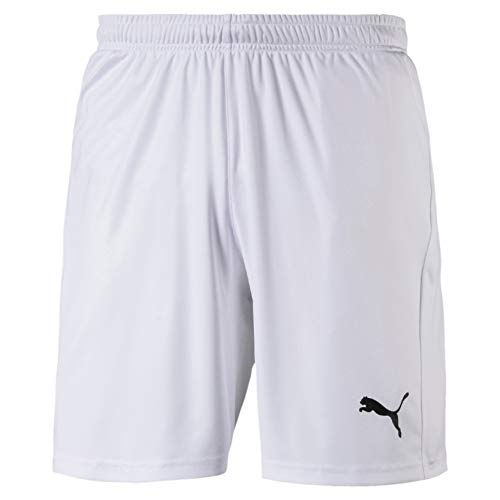 PUMA Herren Liga Shorts Core White Black, L