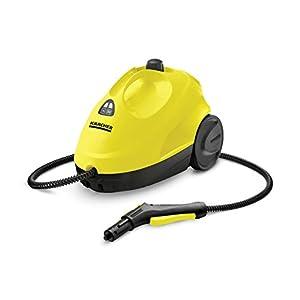 Kärcher Dampfreiniger SC 2 EasyFix (Flächenleistung je Tankfüllung: ca. 75 m², Aufheizzeit: 6.5 min, leicht und kompakt, Zubehöraufbewahrung, Parkposition, flexibles Düsengelenk, weiteres Zubehör)
