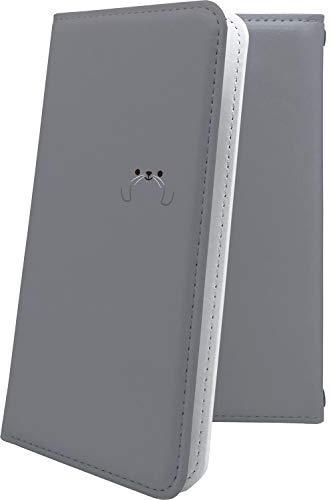 スマートフォンケース・GRANBEAT DP-CMX1(B)・互換 ケース 手帳型 動物 動物柄 アニマル どうぶつ アザラシ グランビート オンキョー オンキョウ ロゴ ワンポイント ロゴ入り dpcmx1 dp-cmx1 cmx1 キャラクター キャラ キャラケース [K1x90988UHb]