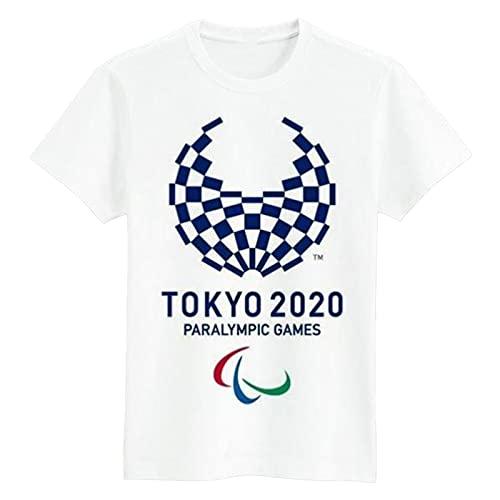 東京オリンピック2020オリンピック支持者お土産、ユニセックス半袖Tシャツトップ(S-3XL) C-L