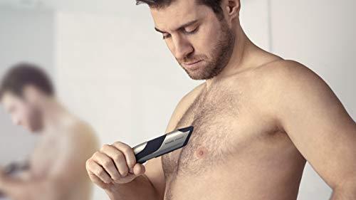 Philips Norelco BG7030/49 Bodygroom Series 7000, Showerproof Dual-sided Body Trimmer and Shaver for Men