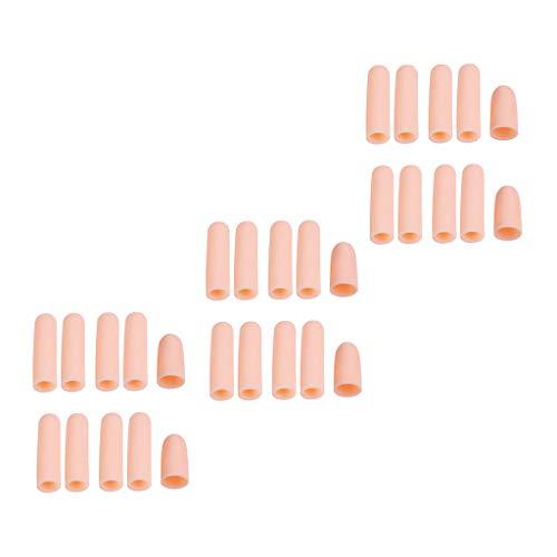 30Pcs Zehenkappen Zehenschutz Zehenpolster Zehenpflaster gegen Blasenbildung und Schwielen für Männer und Frauen zum Schutz Arthritis, Finger