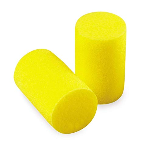 3M E.A.R. Tapones para los oídos clásicos: hechos de una espuma de polímero que absorbe energía [Paquete de 50] [Multicolor]