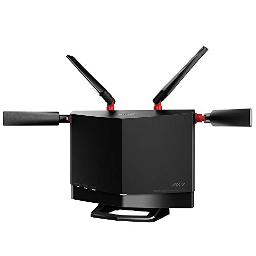 BUFFALO WiFi 無線LAN ルーター WXR-5700AX7S/N Wi-Fi6 11ax/11ac AX5700 4803+860Mbps 日本メーカー 【iPhoneSE(第二世代)メーカー動作確認済み】