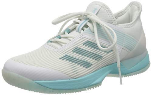 adidas Damen Adizero Ubersonic 3w X Parley Fitnessschuhe, Mehrfarbig (Espazu/Ftwbla/Ftwbla 000), 39 1/3 EU