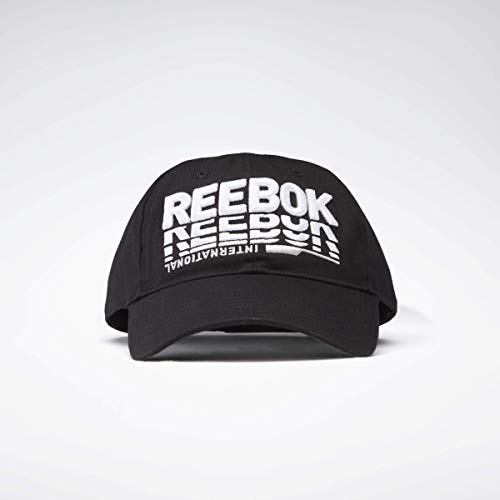 Reebok Tech Style Dad Cap Gorro/Sombrero, Negro, Talla única Unisex Adulto