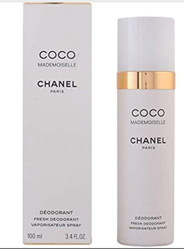 Desodorante en spray Coco Mademoiselle de Chanel, Protección y frescor durante todo el día con un aroma estiloso y sofisticado, 100 ml