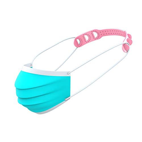 Maskenhaken, 10 Stück Einstellschlaufe Haken Ohr schnurverläng erungsschnalle Verstellbare Schnalle (Zufällige Farben)