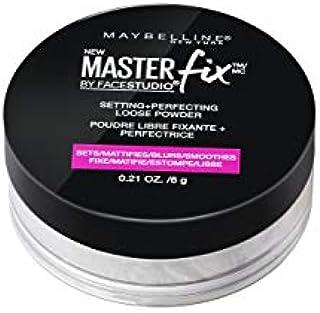 Maybelline Facestudio Master Fix Setting + Perfecting Loose Powder, Translucent, 0.21 oz.