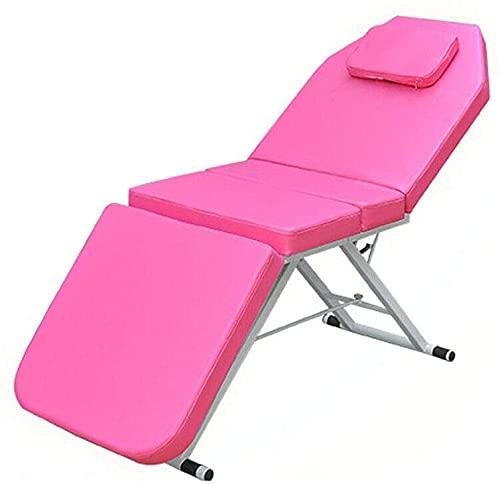 BUSUANZI Table de Massage Pliante à 3 Sections Portable