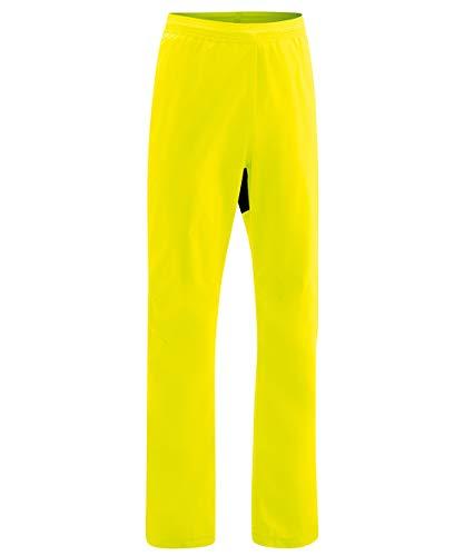 Gonso Herren Drainon Regenhose gelb S