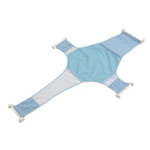 Baby-Badewanne Sitz verstellbar Baby Dusche Badewanne Safety Net Unterstützung Blau