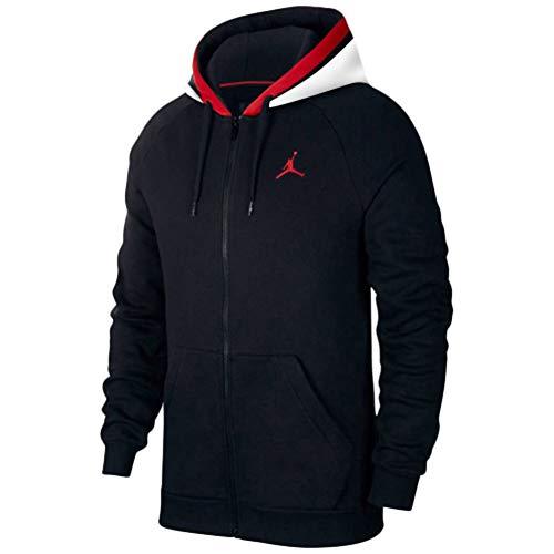 Jordan Mens AIR Fleece Full Zip BQ5649-010 Size 2XL