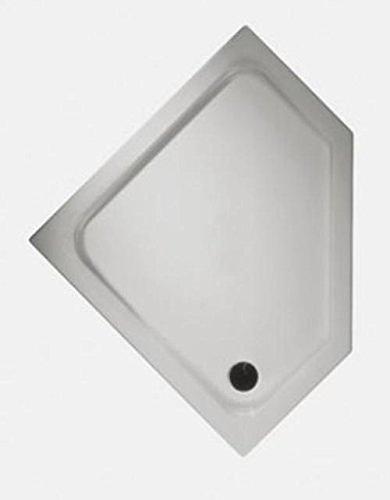 Keramag Fünfeck Duschwanne Renova Nr. 1, 652220 90x90cm weiß(alpin) 652220000