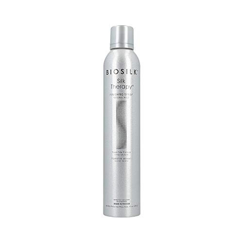 Biosilk Silk Therapy Natural Hold Finishing Hair Spray for Unisex, 10 Ounce