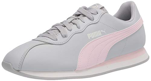 PUMA Unisex-Adult Turin Sneaker, Gray Violet-Rosewater, 6.5 M US