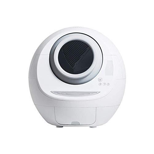WWQQ - Lettiera automatica intelligente per gatti, autopulente per lettiera per gatti, grande lettiera e controllo degli odori