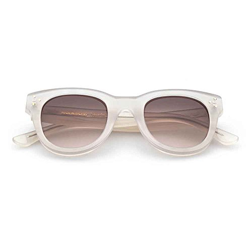 Spektre She Loves You Sonnenbrille Männer Frauen hoher Schutz Tabak Made in Italy
