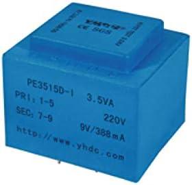 YHDC Transformador de aislamiento de soldadura PCB PE3515-I 3,5VA 110V/24V