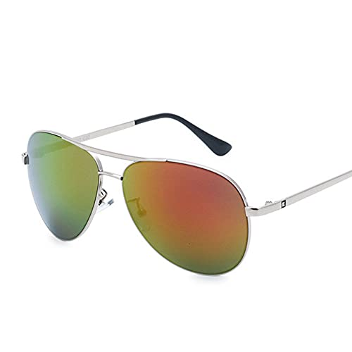 NBJSL Gafas de sol de aviador clásicas para hombres y mujeres - Gafas de sol retro polarizadas con protección Uv400 - Gafas de doble puente