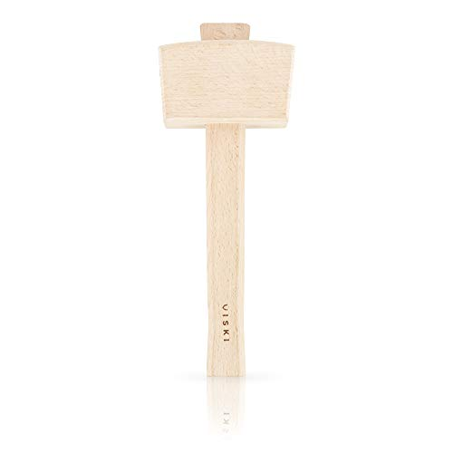 Viski 5198 Wooden Ice Mallet by Eiswerkzeuge, holz, braun