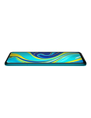 Xiaomi Redmi Note 9S Smartphone(16,94cm(6,67Zoll) FHD+DotDisplay,4GB RAM+64GB ROM, Snapdragon 720G, 48MP AI Quad Kamera,5020mAh Batterie, 18W Schnellladung, Dual-SIM), Aurora Blue(Blau)