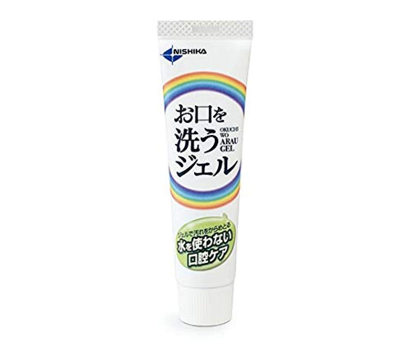 素晴らしい定説愛する日本歯科薬品 お口を洗うジェル(口腔ケア用ジェル) 25g