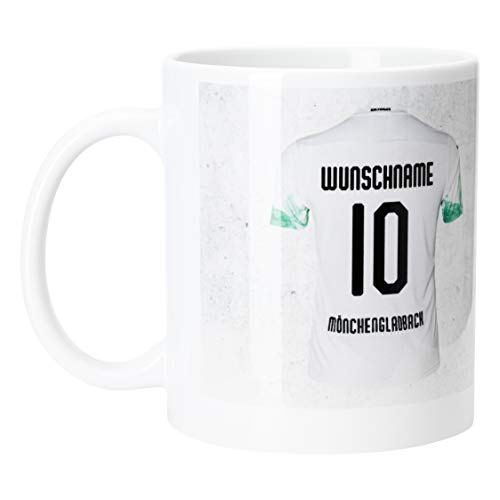 Borussia Mönchengladbach Tasse Trikot personalisierbar