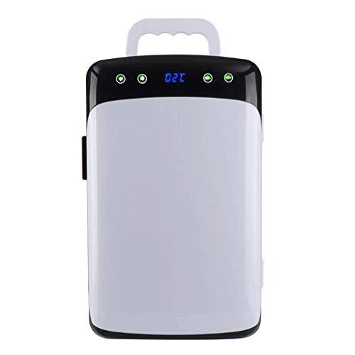 Q-HL Nevera Portátil, Compresor portátil de 12 litros Refrigerador Congelador Refrigerador DC...