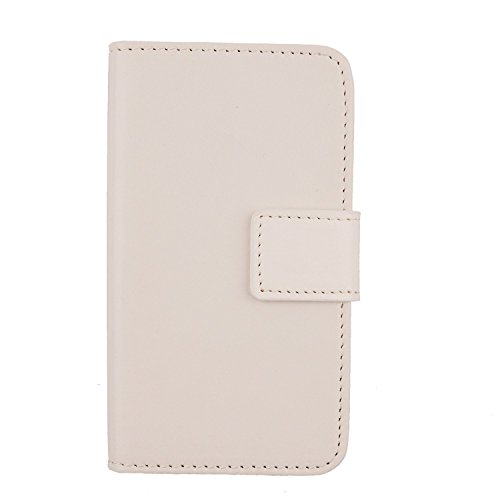 Gukas Flip PU Leder Tasche Hülle Skin Für SISWOO A4+ / Plus Chocolate 4.5