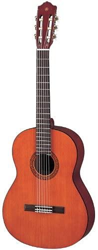 Yamaha CS40II Konzertgitarre natur – Leicht bespielbare Akustikgitarre für junge Einsteiger – 3/4 Gitarre aus Holz, Schülermodell