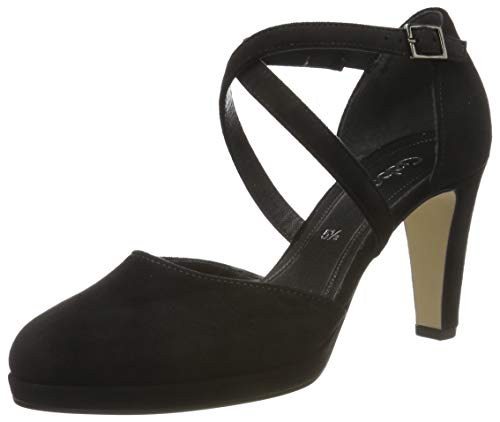 Gabor Damen Fashion Pumps, Schwarz (Schwarz 47), 37 EU