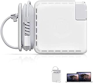 Cord Organizer Compatible with Macbook Charger,Protective Case for Magsafe USB-C Power Adapter Mac Charging Cable Manageme...