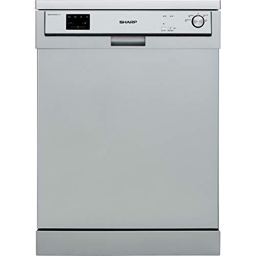 Sharp QW-HX13F472S Standard Dishwasher - Silver