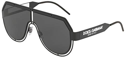 Dolce & Gabbana DG2231 Matte Black/Grey One Size